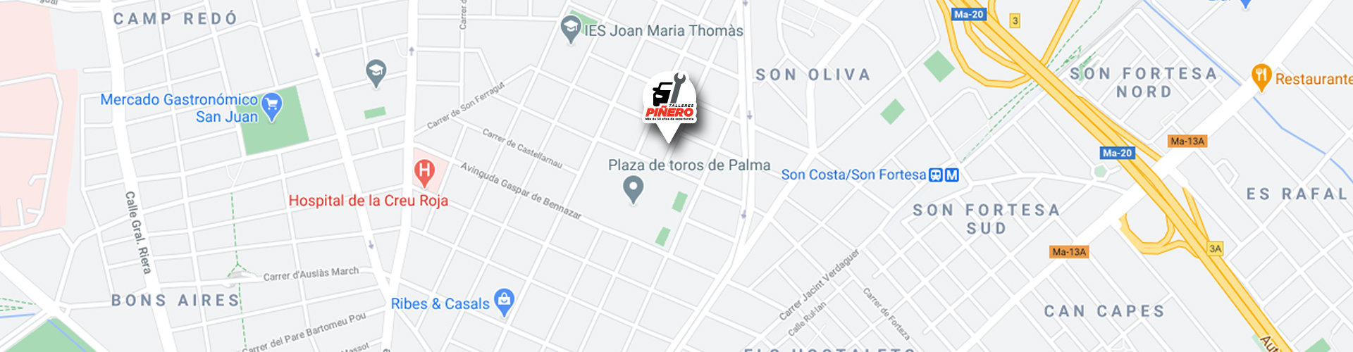 Talleres Piñero   Taller mecánico en Palma de Mallorca