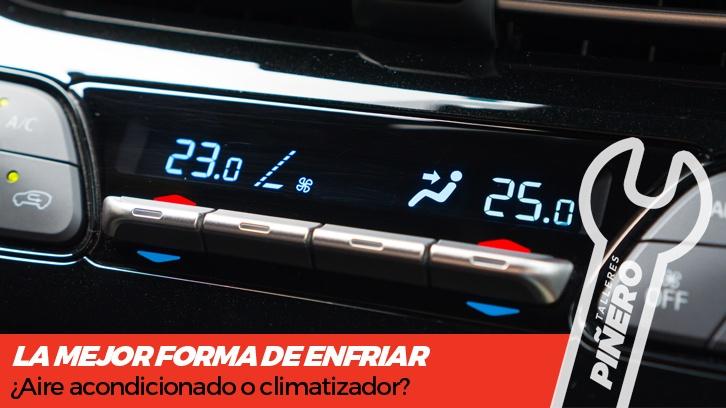 aire acondicionado o climatizador