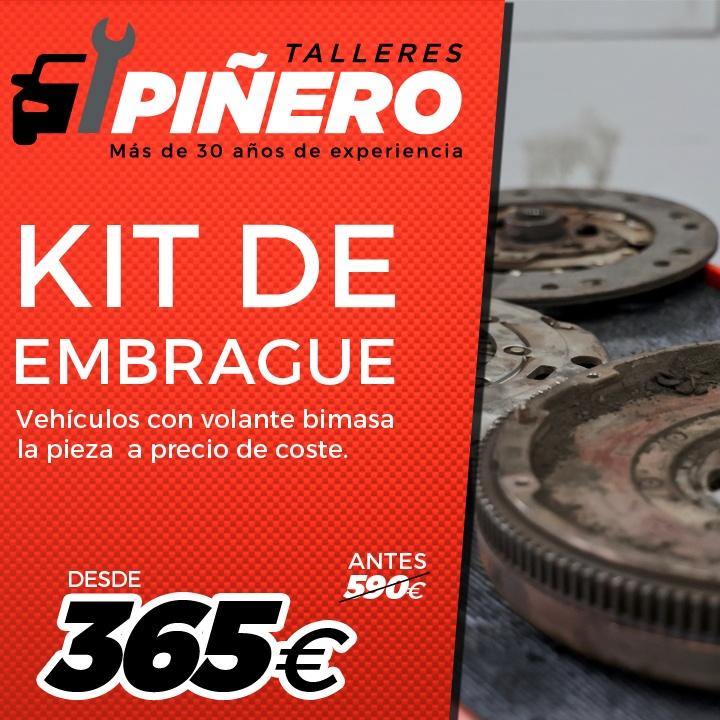 Descuentos y promociones para Kit de embrague y volante bimasa en Palma de Mallorca